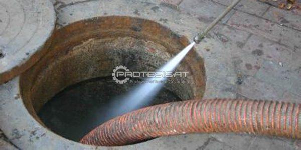 kanalizasyon temizleme